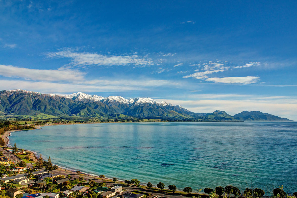 kaikoura beach, new zealand trip