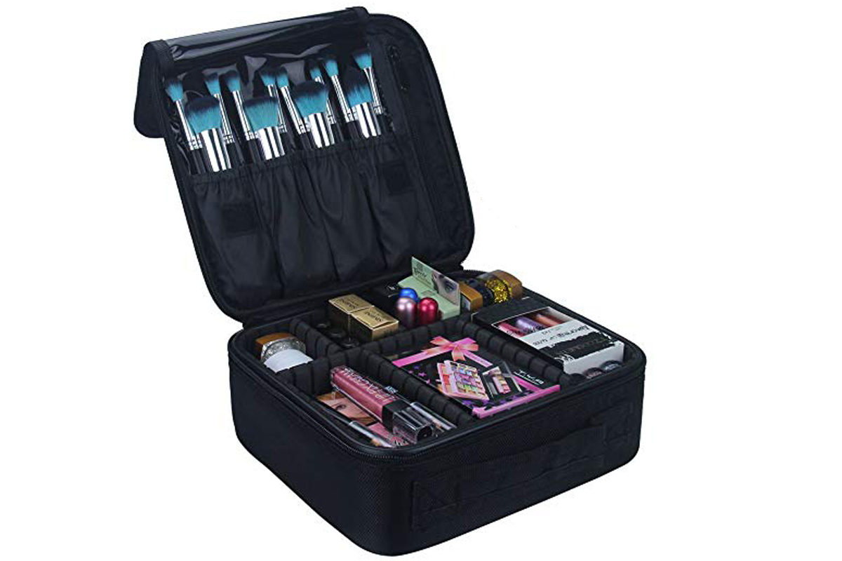 makeup travel bag on amazon