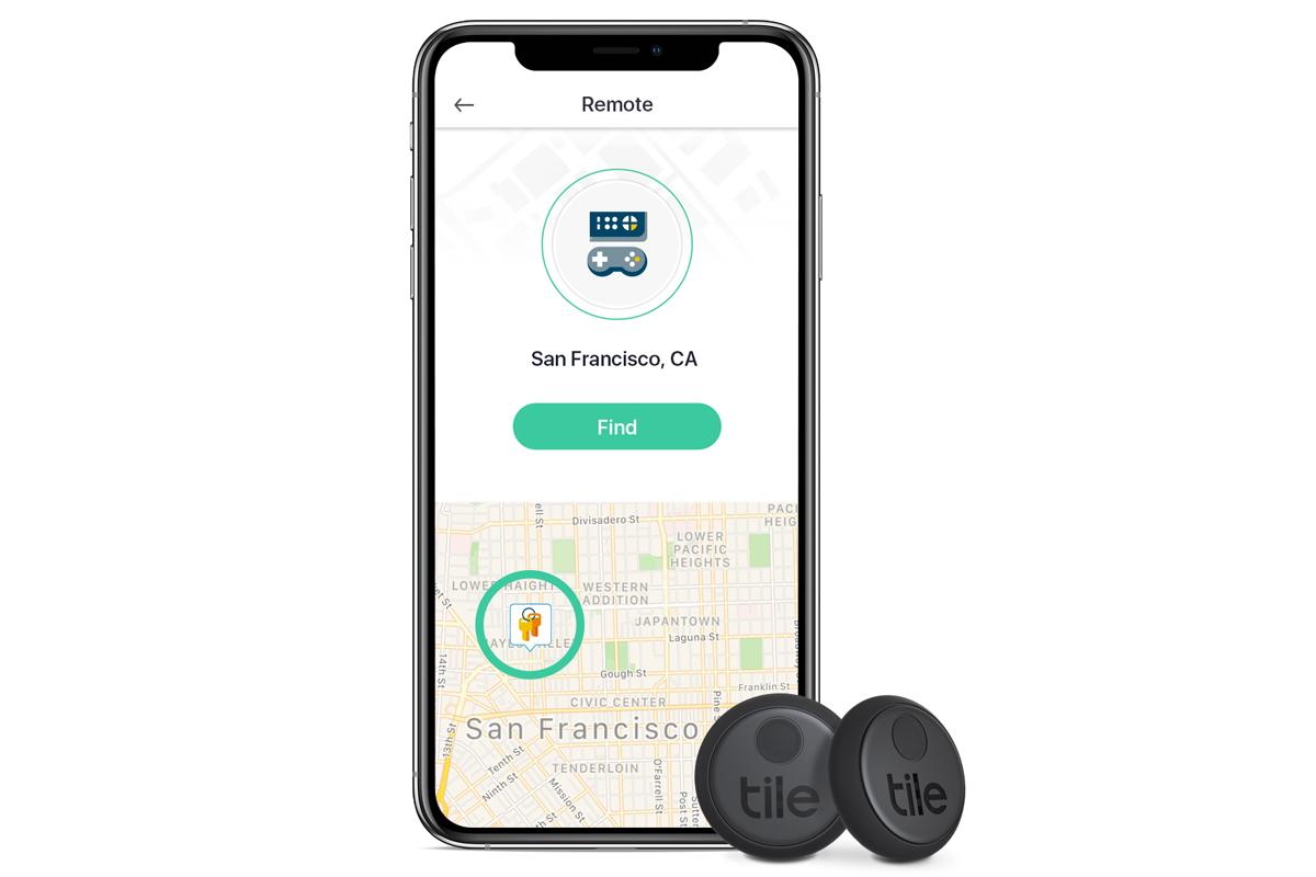 tile sticker with tile app