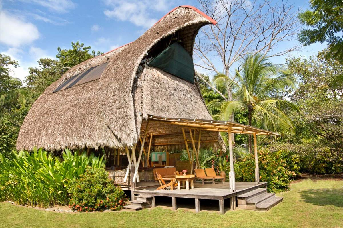 bamboo house costa rica off the grid