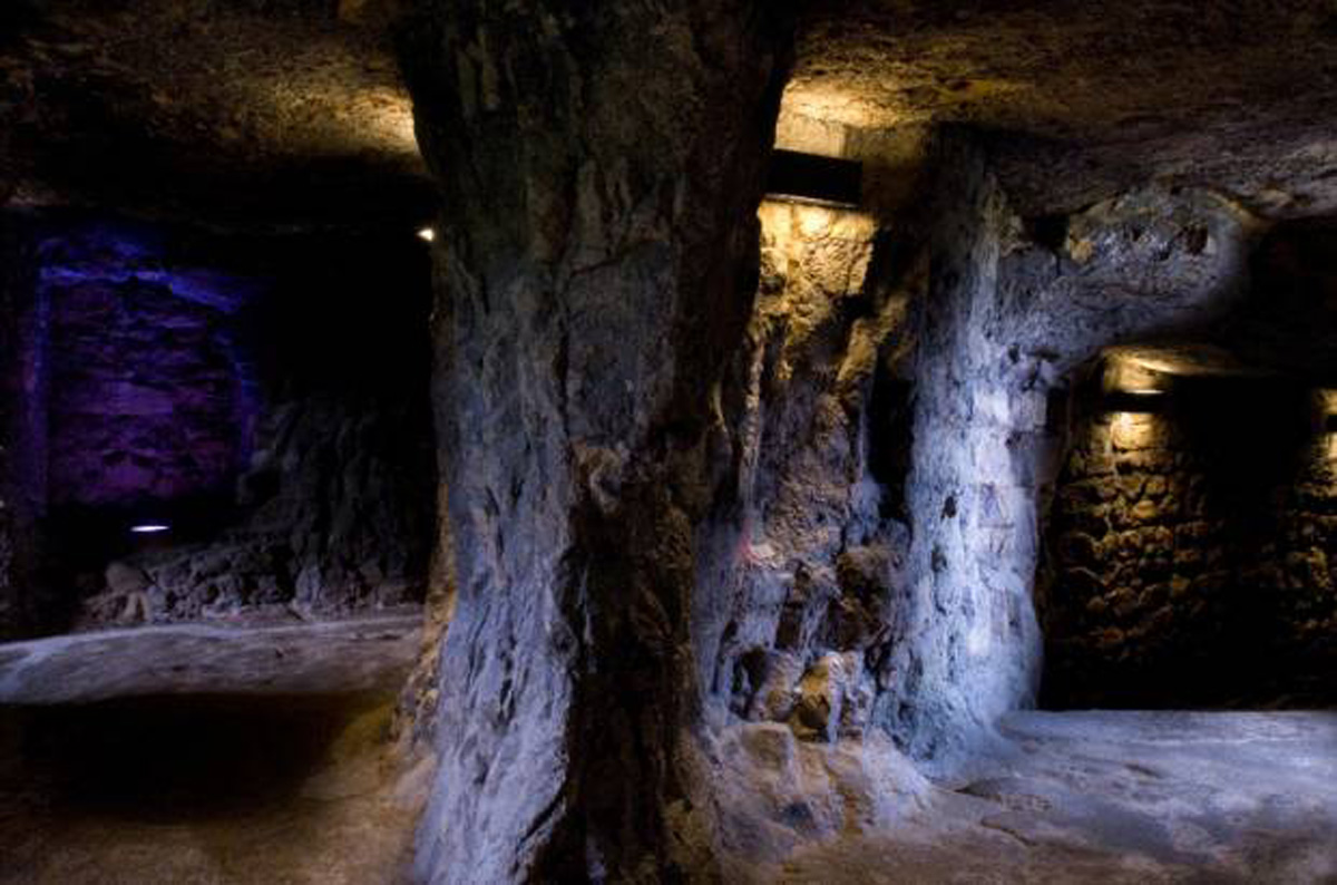 Bock casemates in luxembourg city