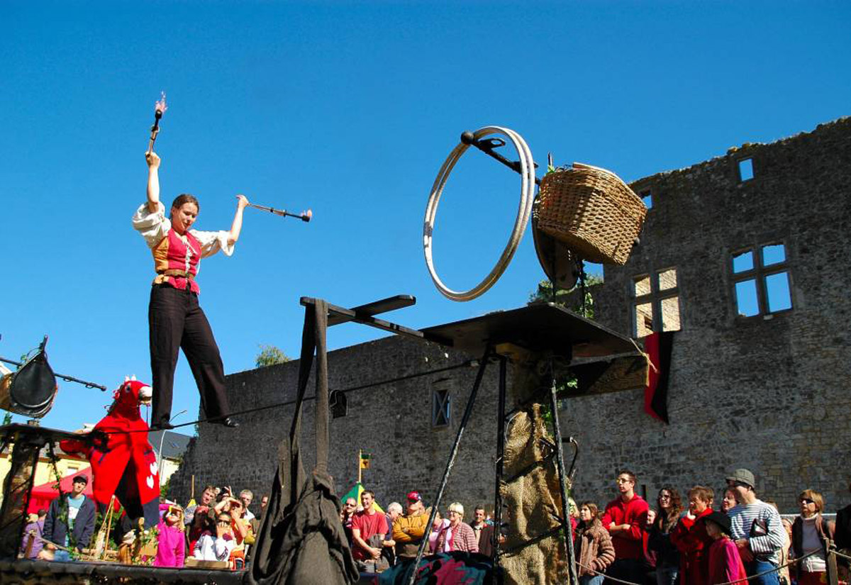 guttland region of luxembourg, vally of the seven castles, medieval festival