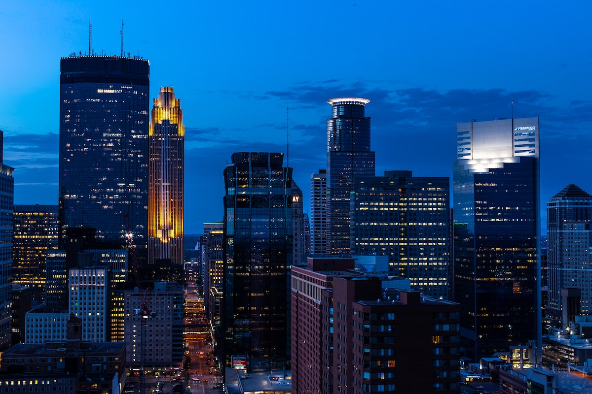minneapolis skyline at night, how to find the best views in your city